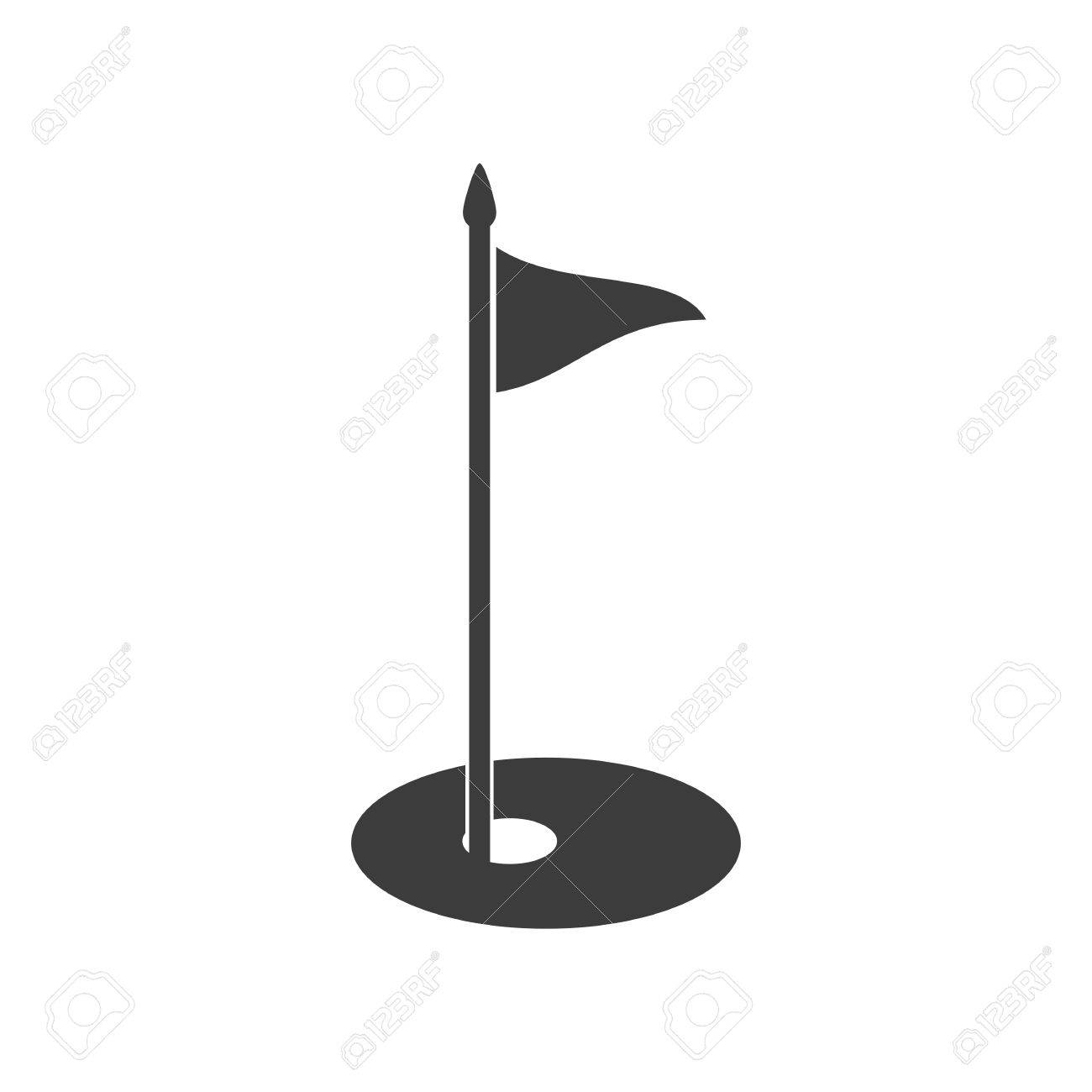 golf flag icon golf flag vector isolated on white background rh 123rf com golf vector free golf victory long sleeve polo