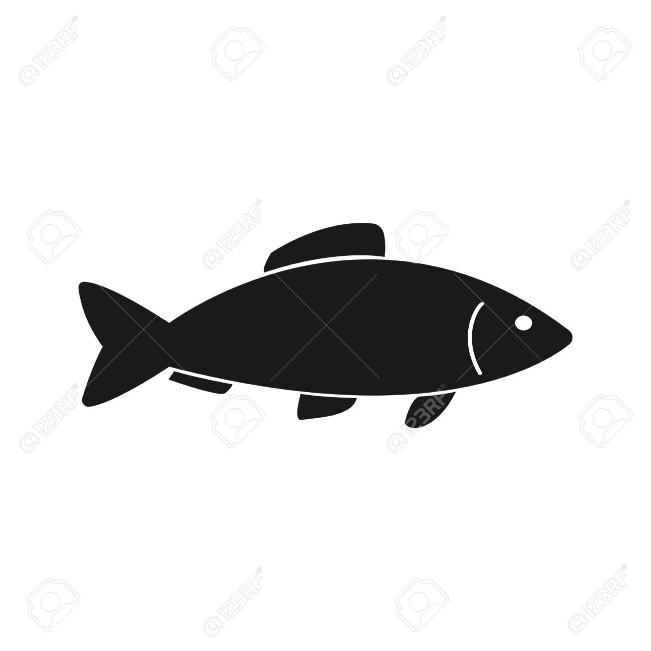 fish icon vector flat icon fish flat vector illustration for rh 123rf com fish vector characters fish vector graphic