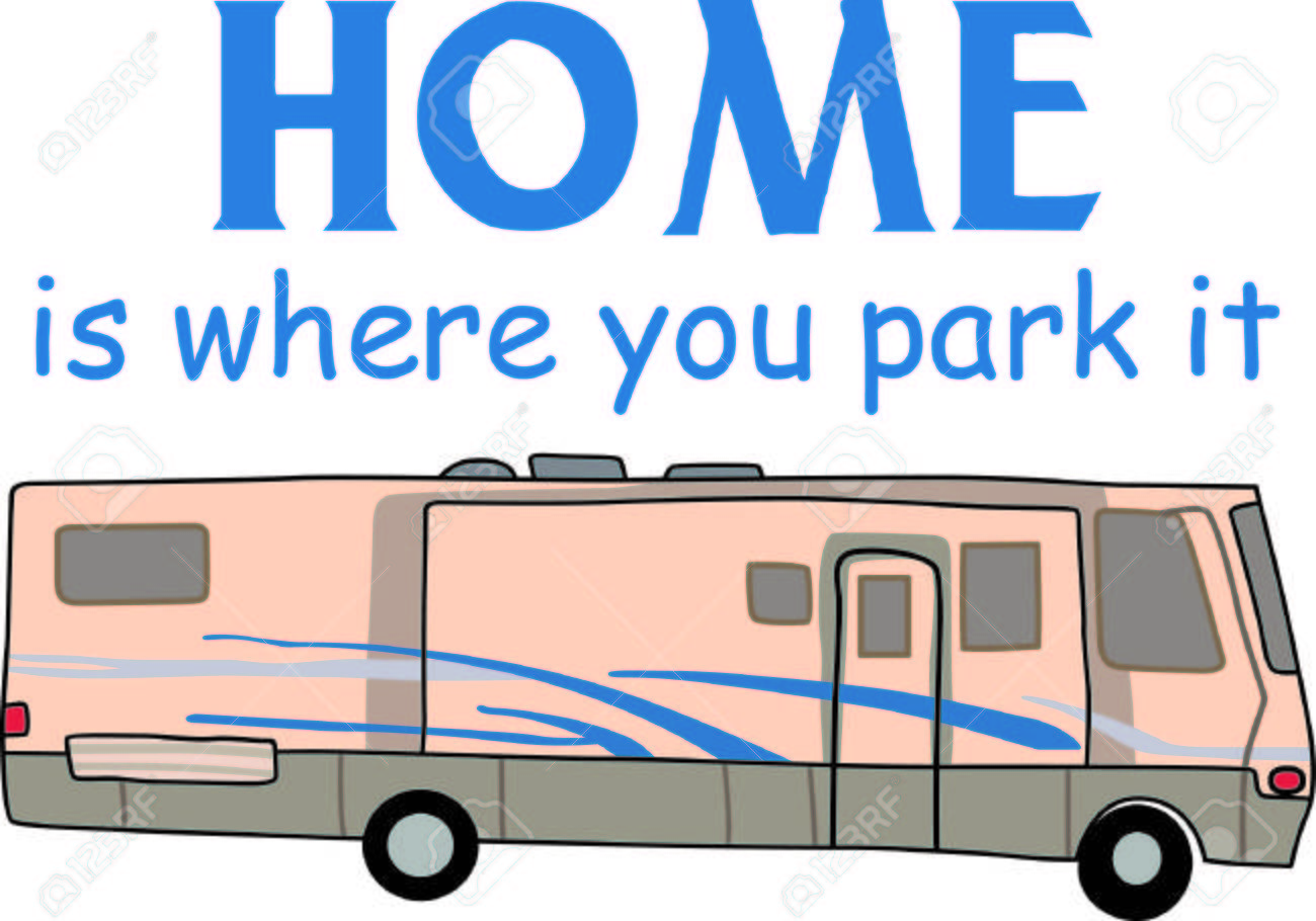 Hop in the motor home and enjoy vacation with this design to decorate. - 44931314