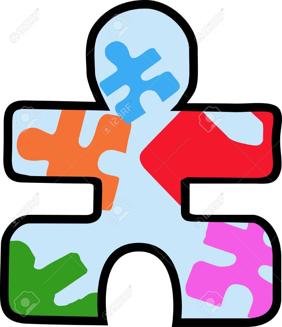 Vettoriale Speciale Bambini Autistici Sanno Che è Il Loro Regalo