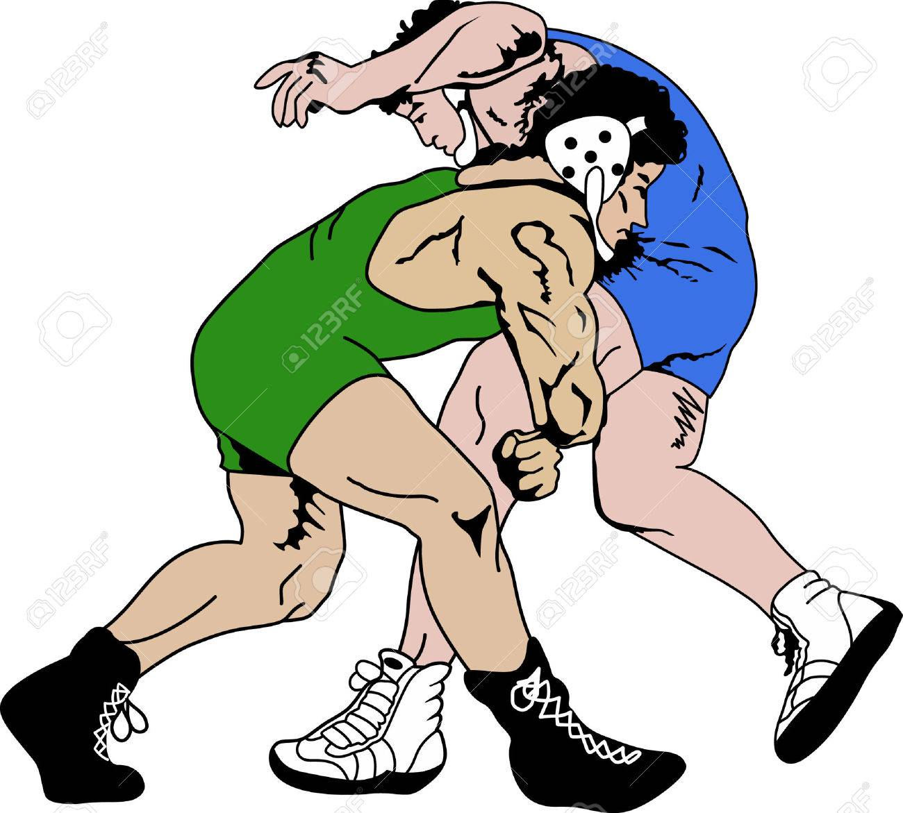 Wrestling is a very active sport taking years to master. This is a wonderful design they will love it. - 45026002