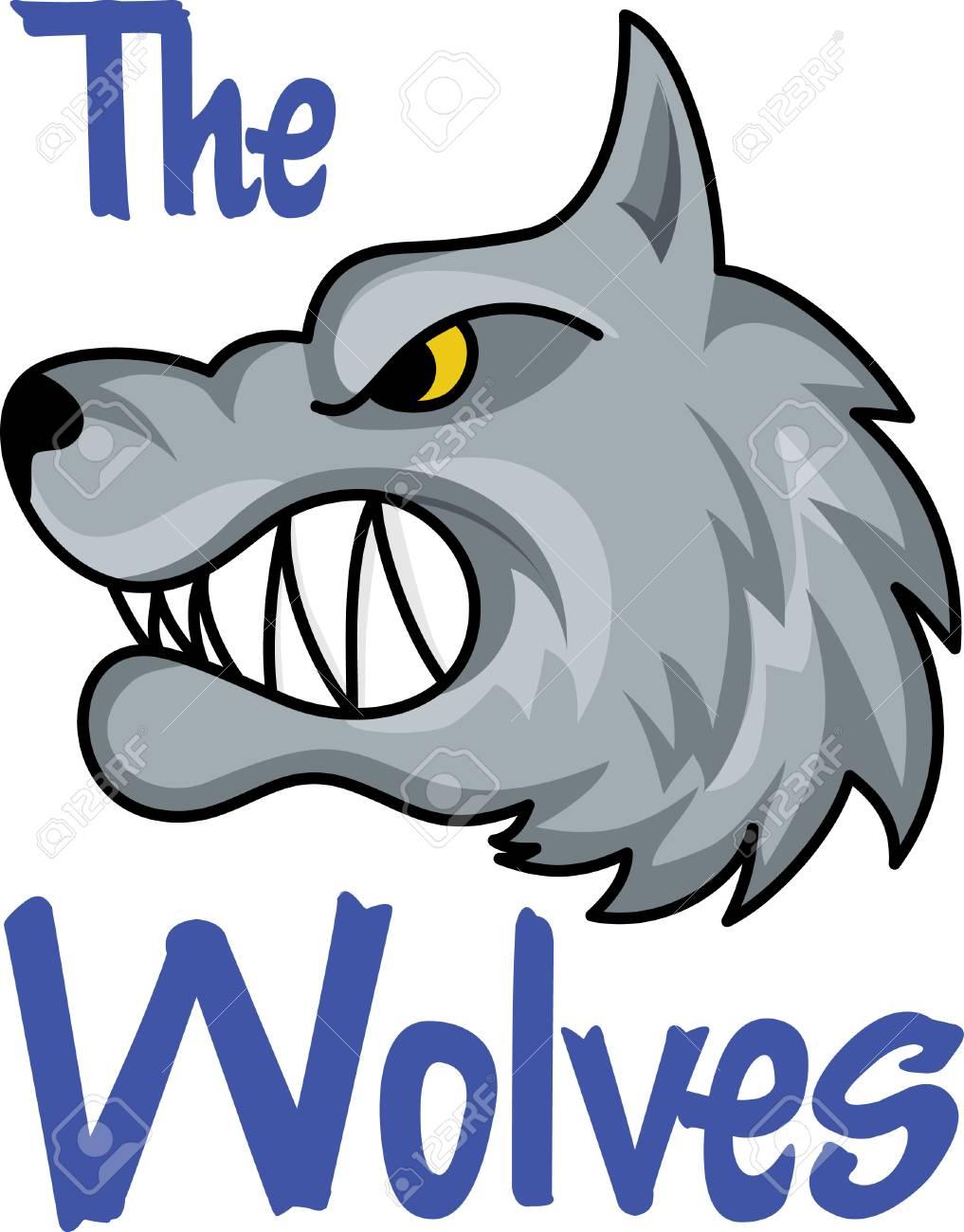 best cheap 7b850 6a67c ora di tifare per la squadra con questo disegno lupo mascotte. Un design  perfetto per tutti gli appassionati di grandi nozioni.