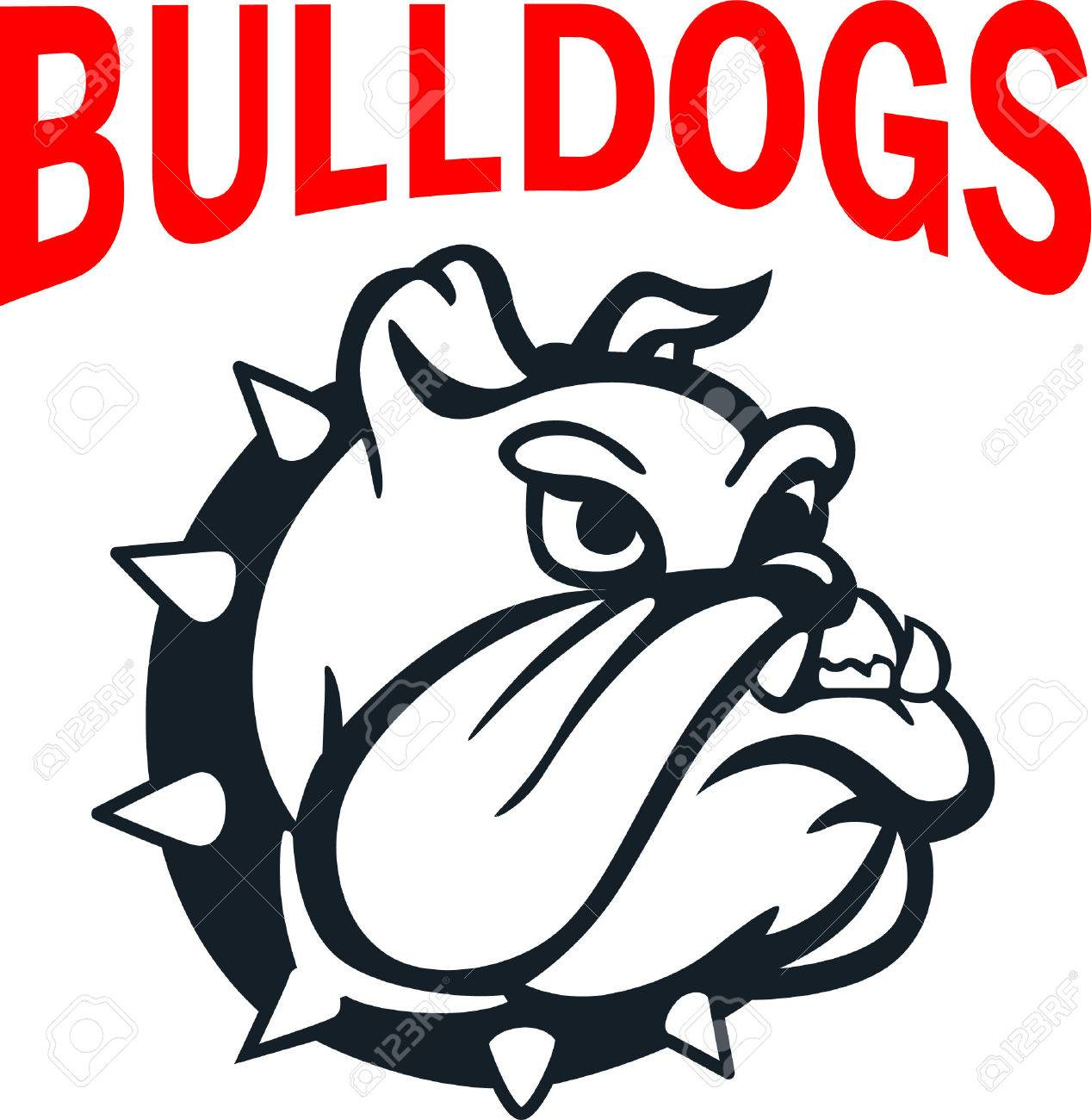 Show your team spirit with this bulldog logo. Everyone will love it! - 45056959