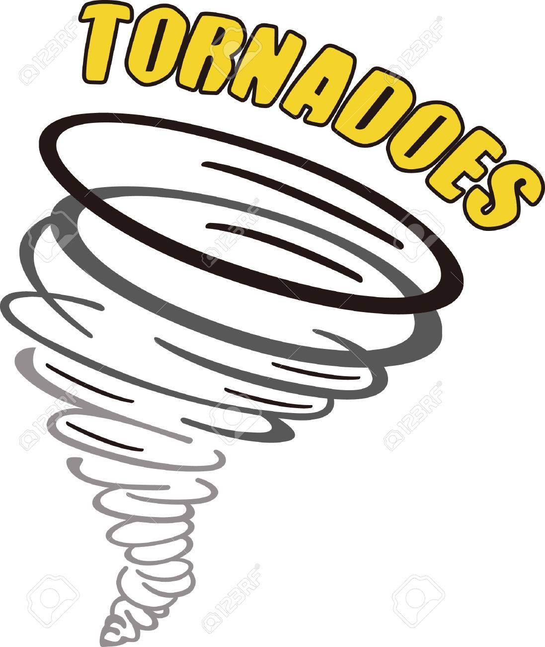 show your team spirit with this tornado logo everyone will