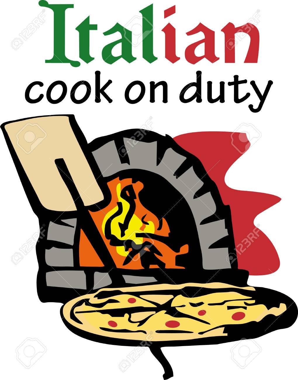 un forno in mattoni è perfetto per cucinare una pizza fatta in ... - Cucinare Pizza