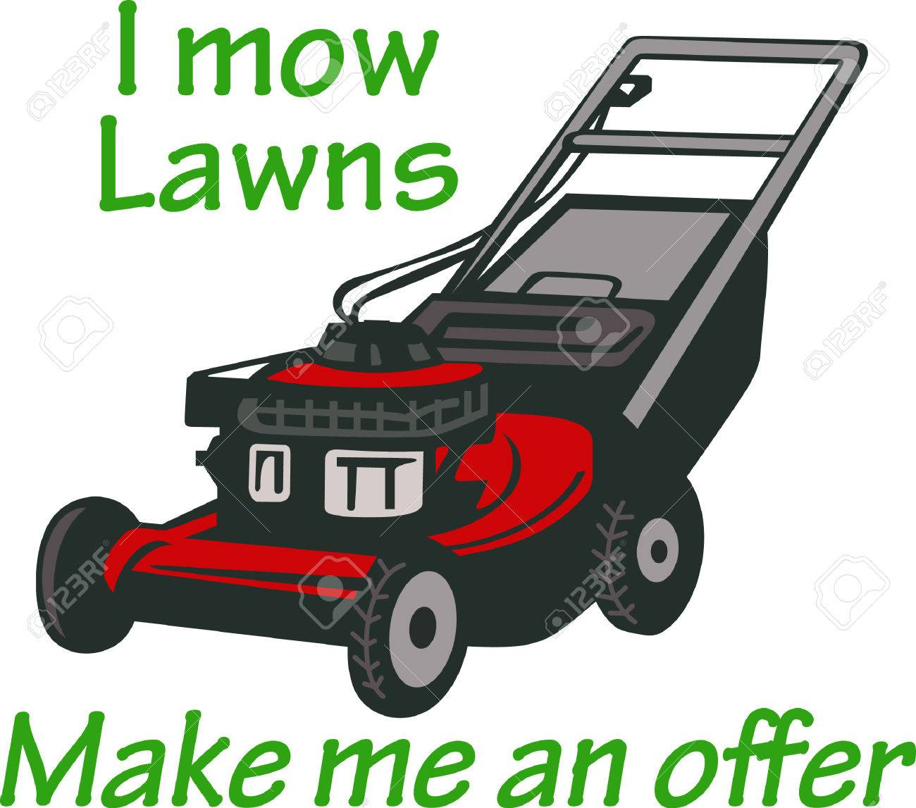 382 Lawn Care Maintenance Stock Vector Illustration And Royalty ...