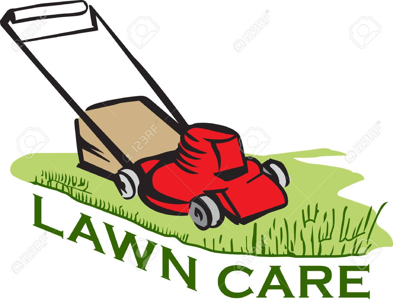 its the perfect advertisement for your lawn mowing business royalty rh 123rf com free lawn mower clipart images free lawn mower clipart download