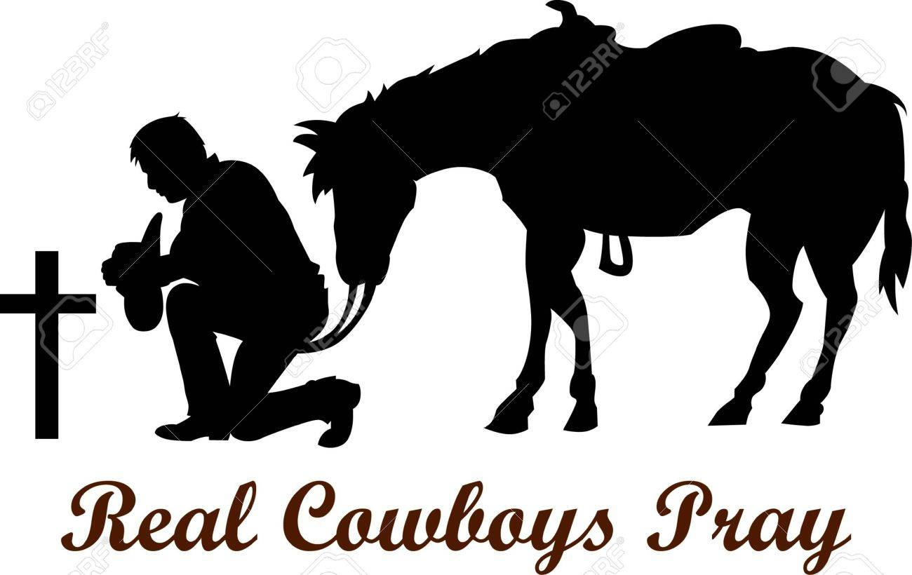 The cowboy who lost his friend is a respectful design - 45224051