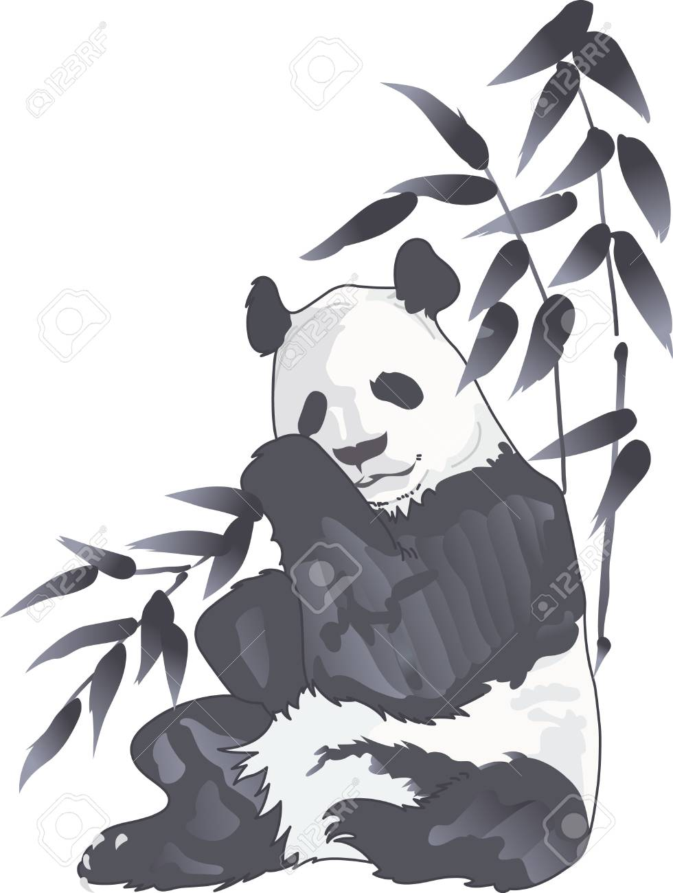 Visiting the zoo is fun, but seeing a panda bear is very special. Remember it all year long. - 45174588
