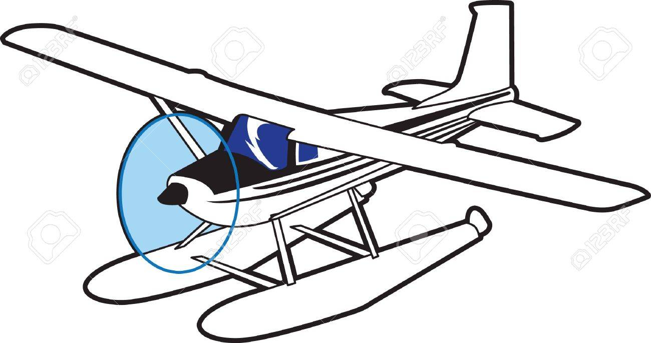 It is so much fun to fly in a plane that lands on water. - 45174024