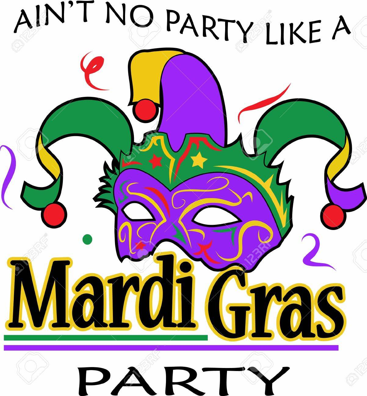 The king cake is am important part for your mardi gras celebration. - 45170441