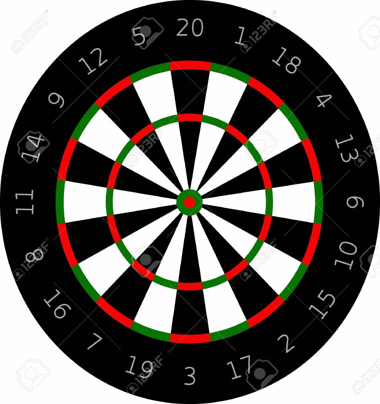 The Perfect Design For Playing Darts Place On Shirts And Hats