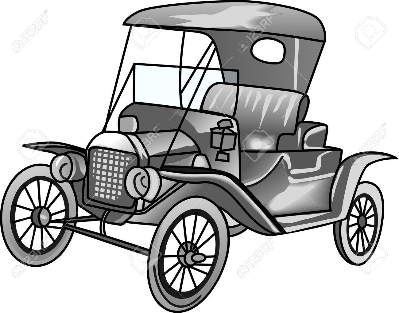 The Model T Car Is A Perfect Design To Wear To The Next Antique ...