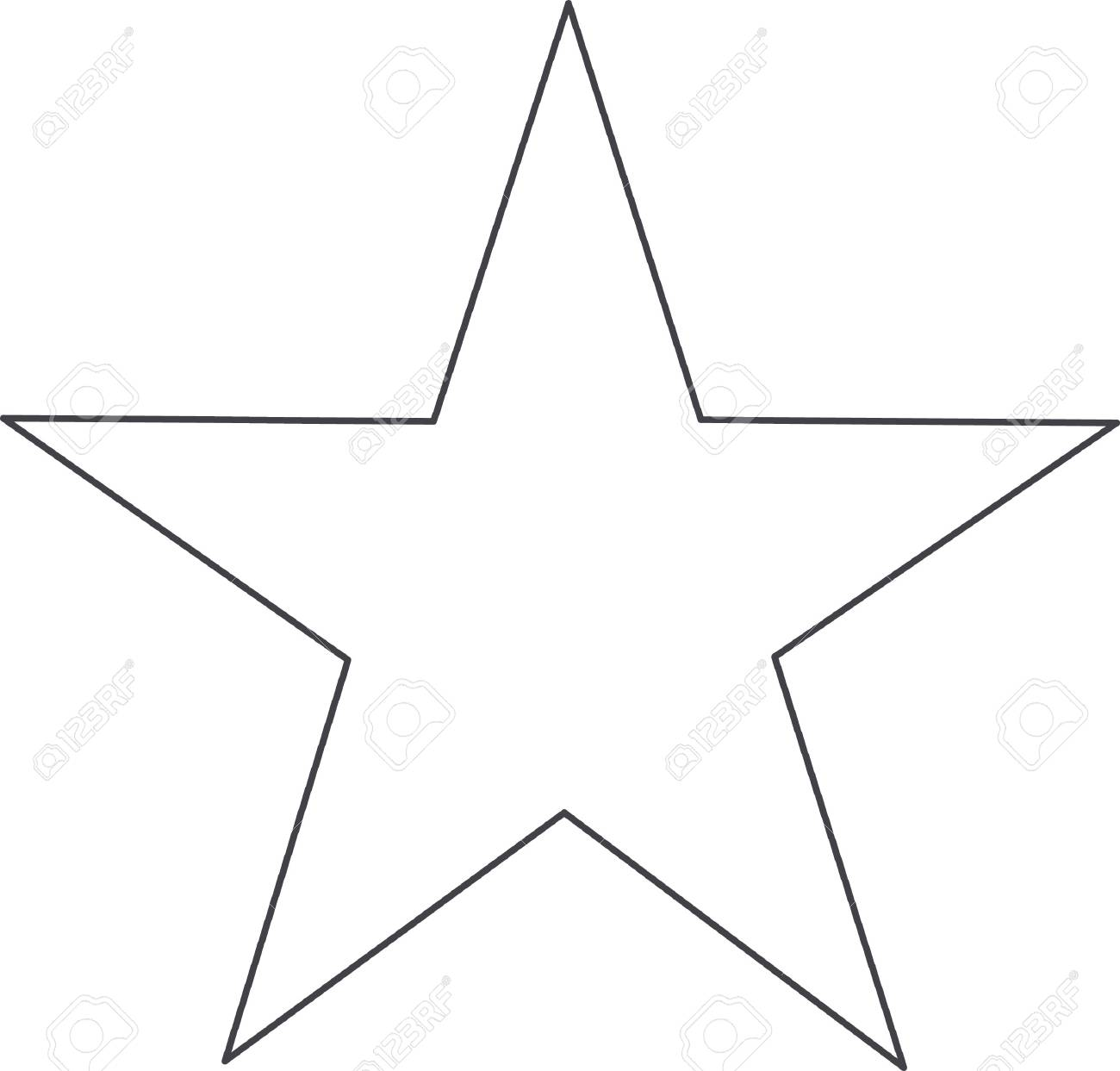 This outline is perfect to add to your custom design for this beautiful star. - 45194913