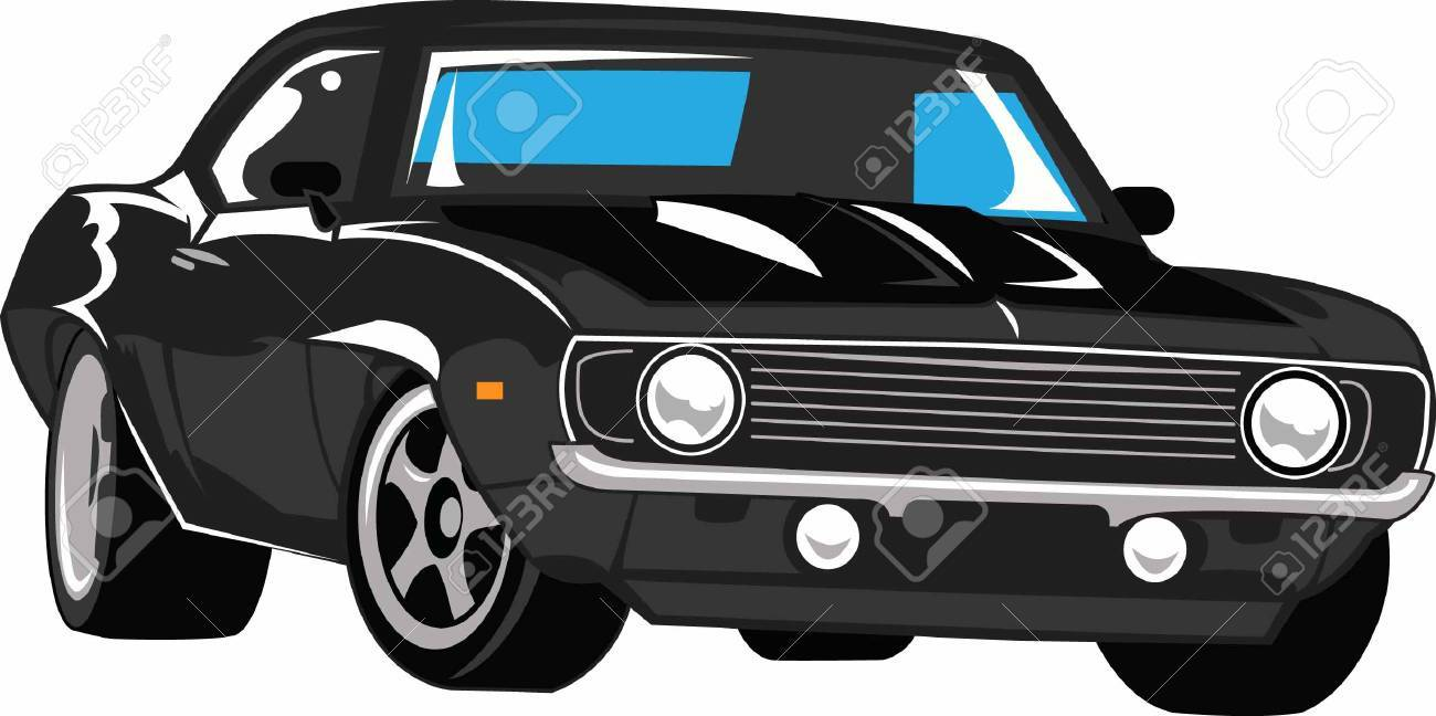 The car is an American classic. Take this design to the next car show. He will love it! - 45196674