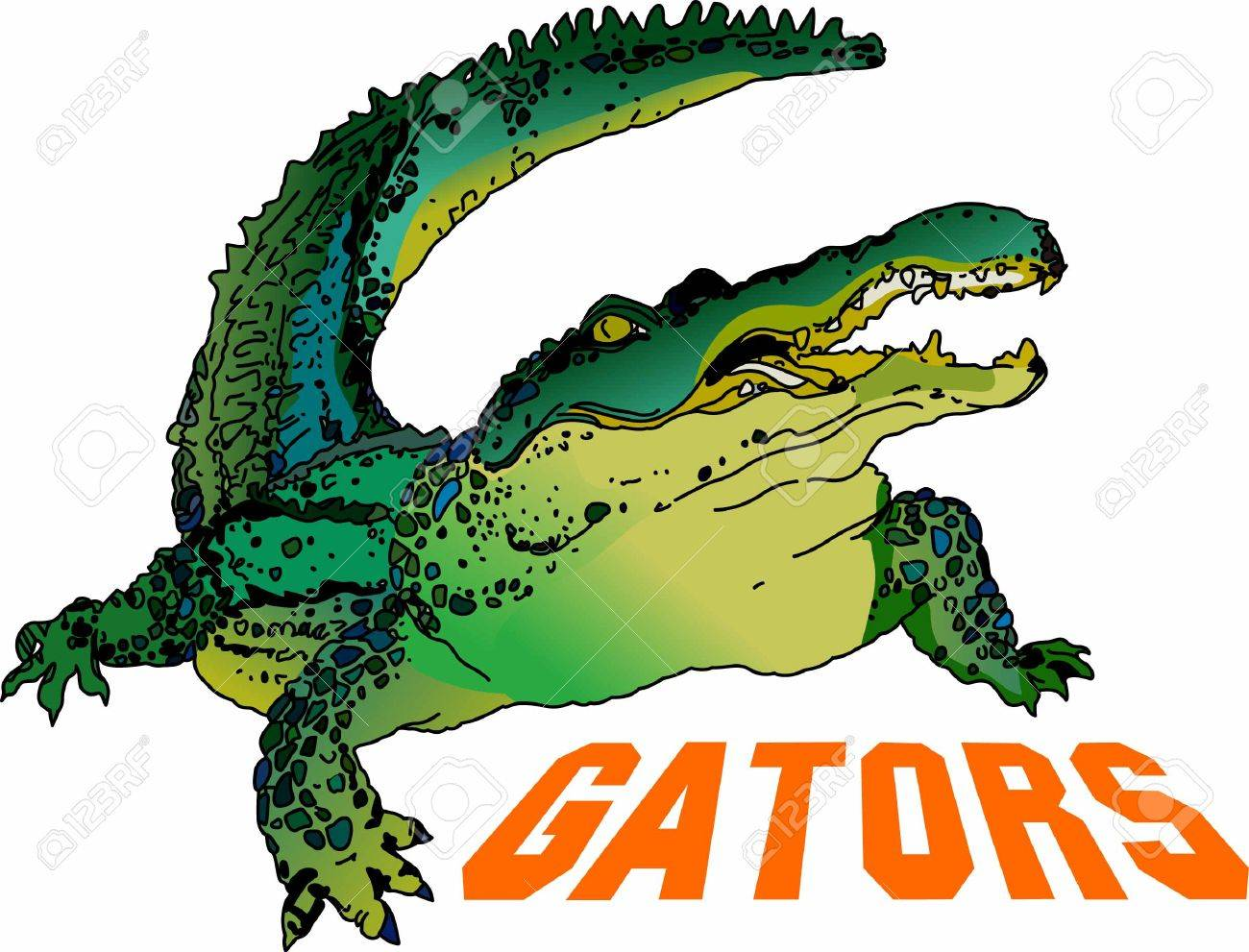 Use this Aligator design for your next reptile project - 45294744