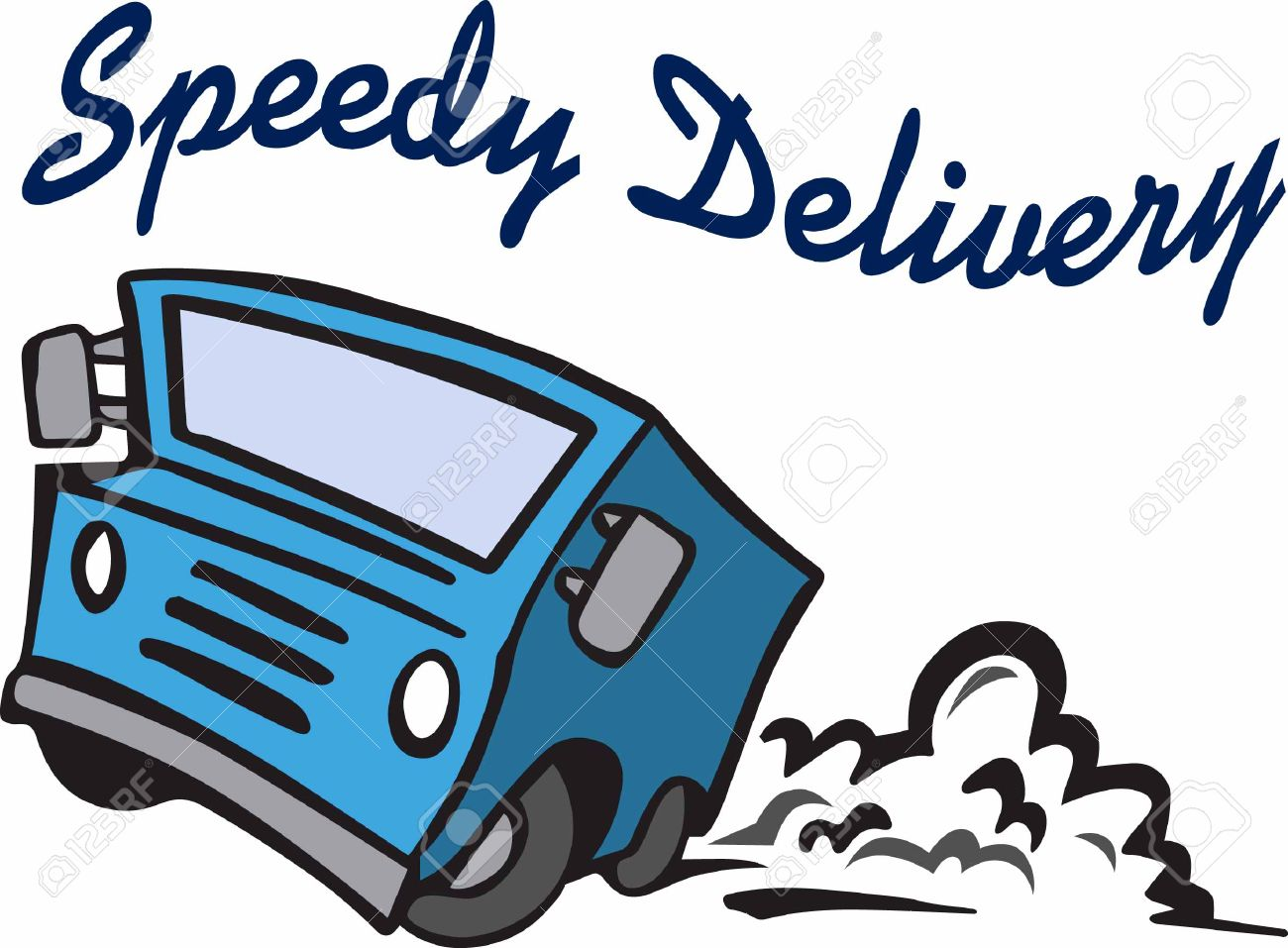 use delivery truck for a speedy delivery royalty free cliparts rh 123rf com red delivery truck clipart