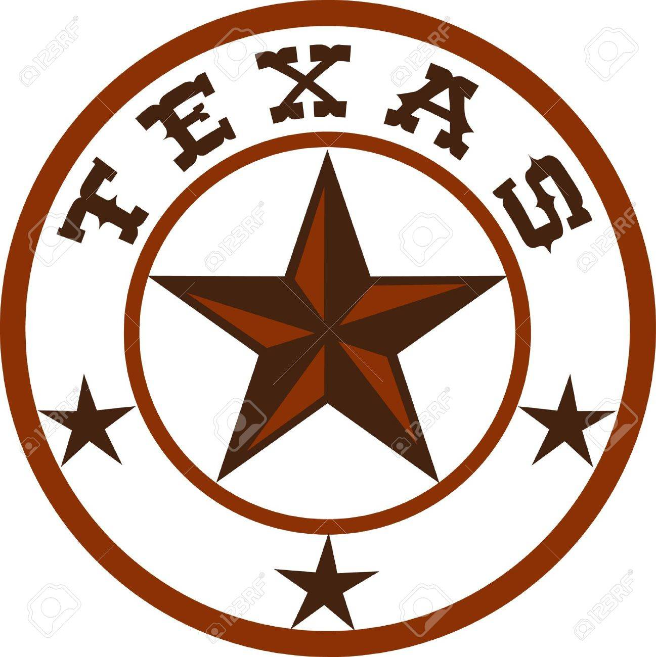 Put this great star on a western project. - 45348767