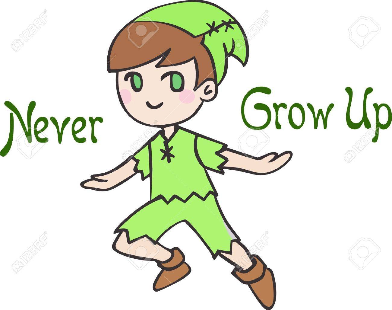 Have peter pan for a child's room decor. - 45349235