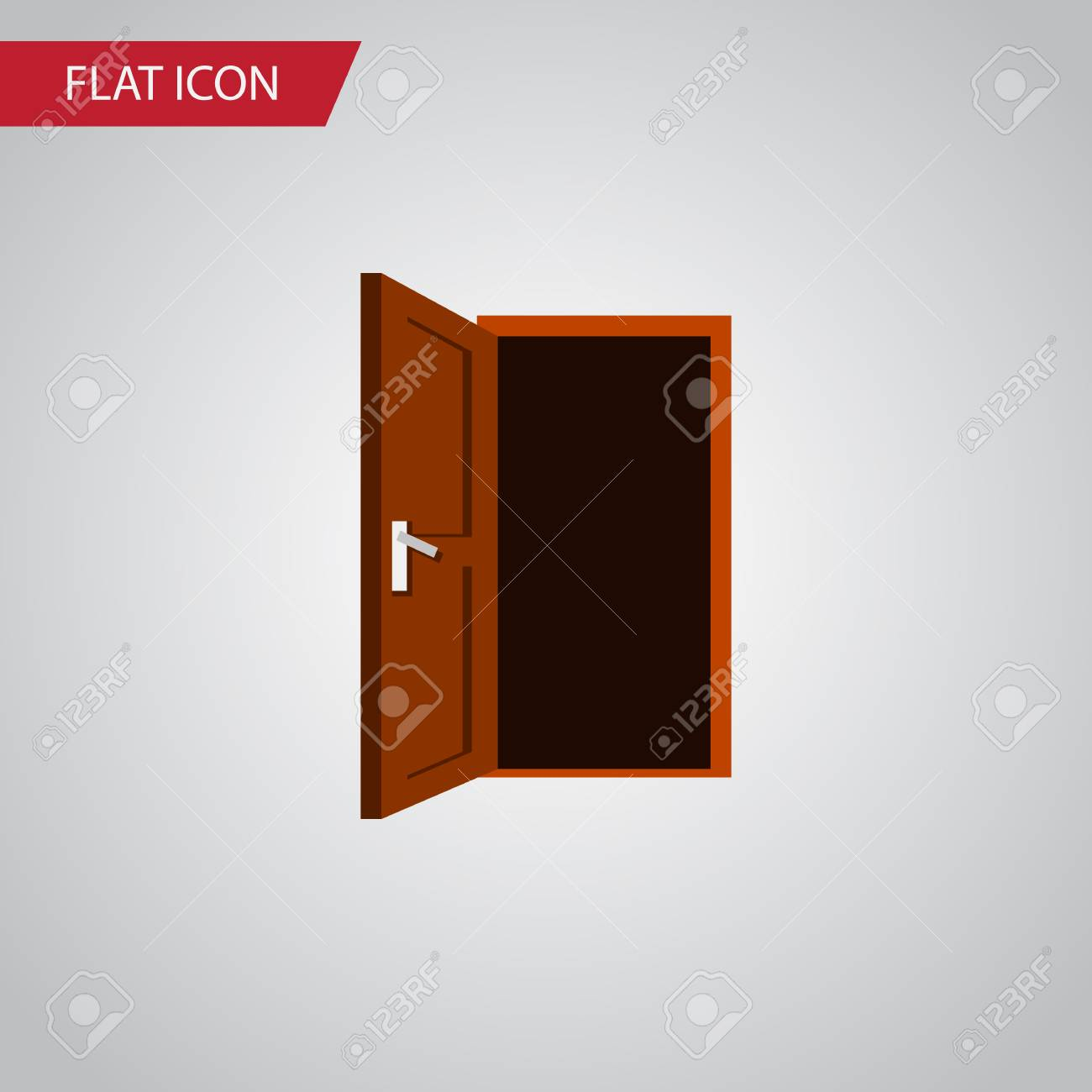 Isolated Frame Flat Icon Approach Vector Element Can Be Used