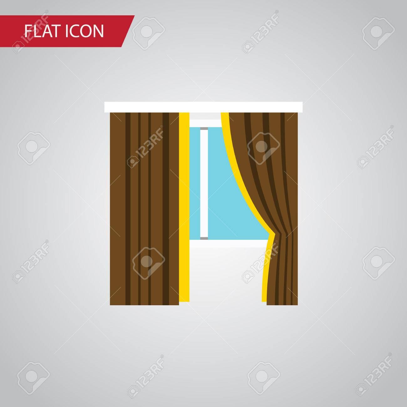 Isolierte Frame-flach-Symbol. Glasvektorelement Kann Für Rahmen ...