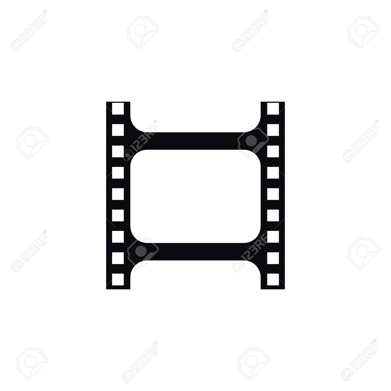 isolated photographing icon film vector element can be used rh 123rf com film icon vector png film reel vector icon