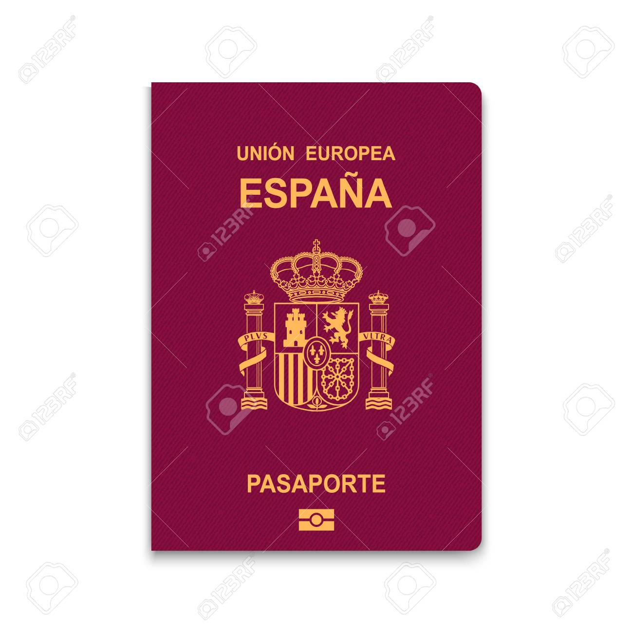 Royalty Free And Image Stock Vector Spain Vectors Cliparts Illustration Of Illustration 97221741 Passport