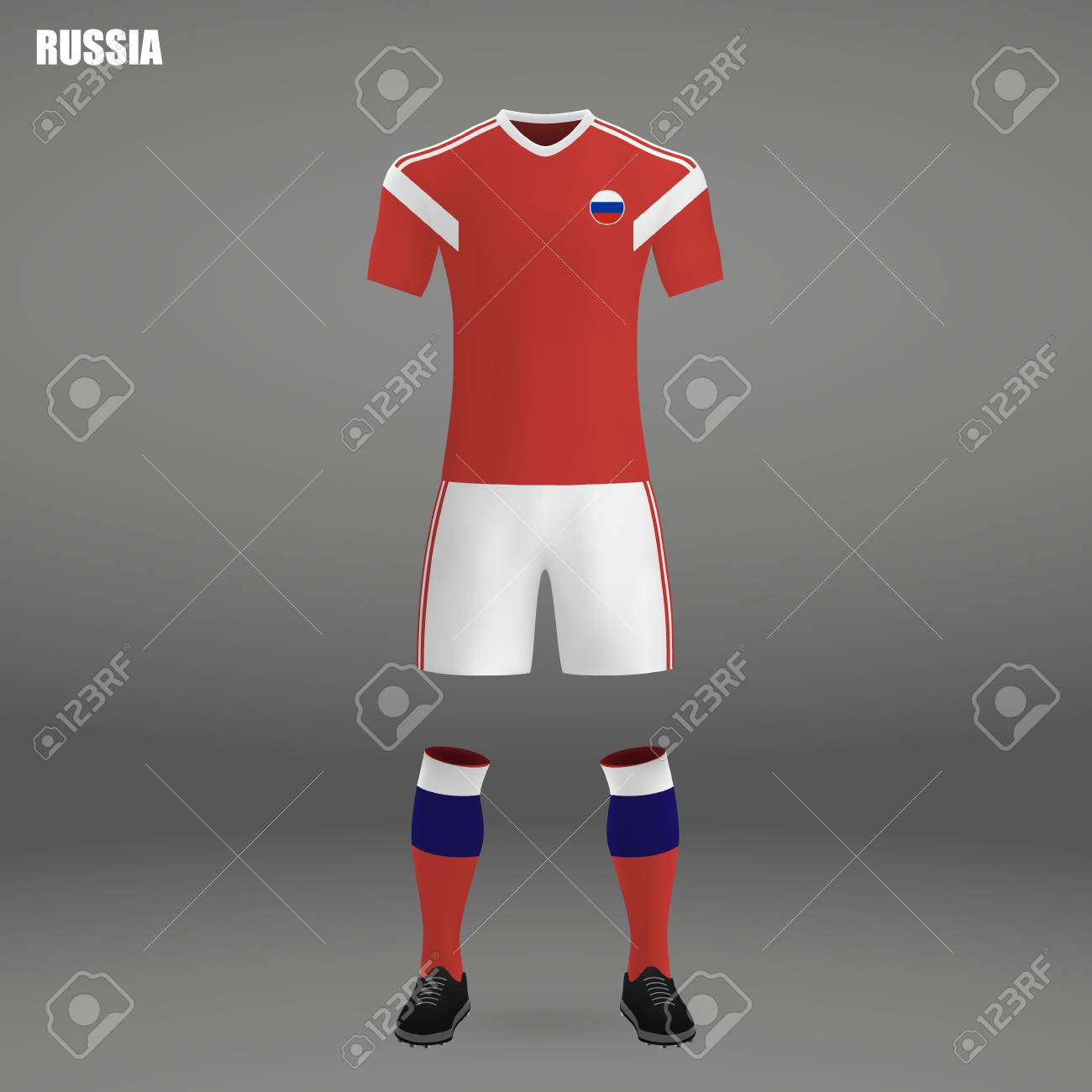 Football Kit Of Russia 2018 16dcc9d0b