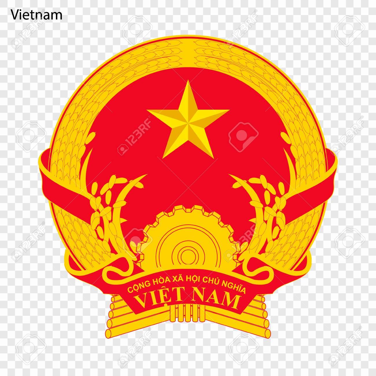 Symbol of Vietnam. National emblem - 103776932