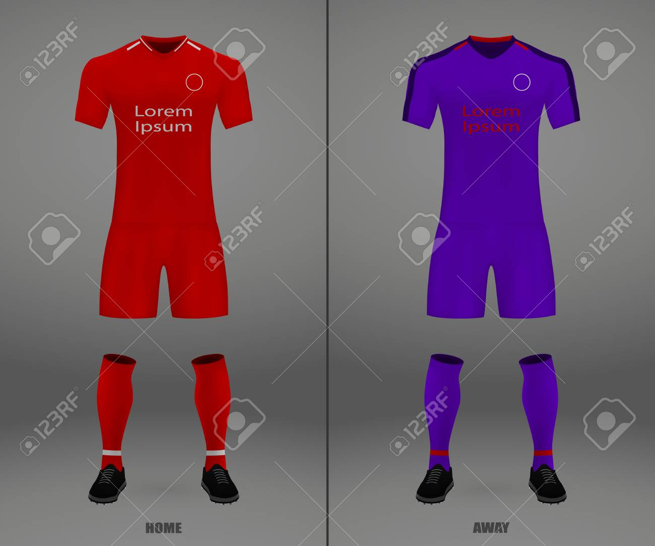 the best attitude 46a74 344e0 football kit Liverpool 2018-19, shirt template for soccer jersey...