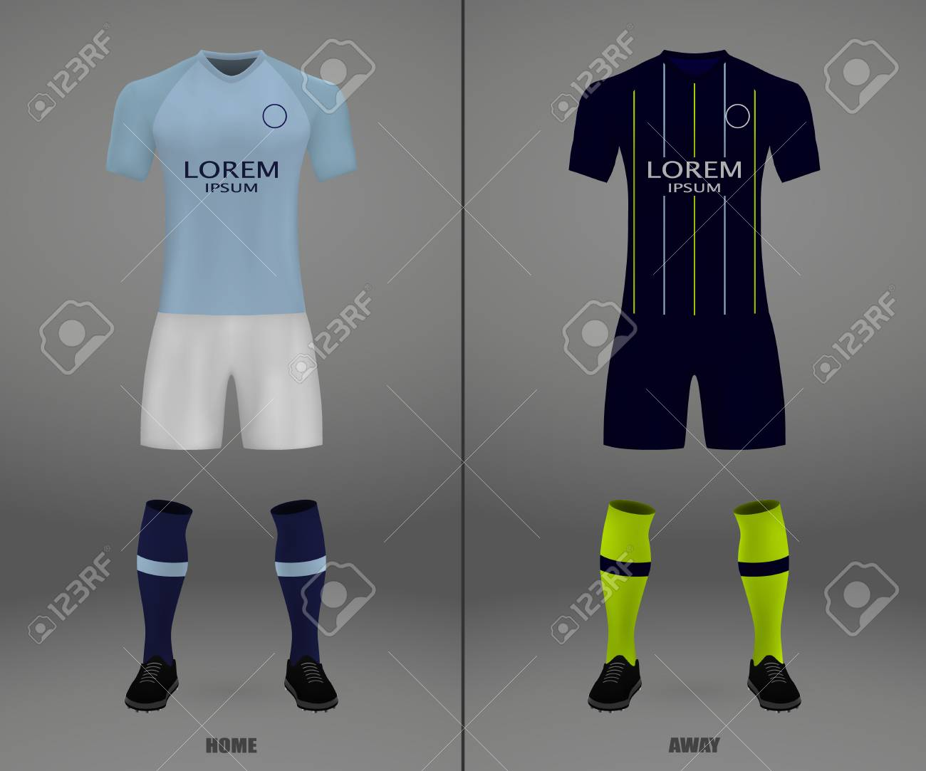 best service 10104 0c72a football kit Manchester City 2018-19, shirt template for soccer..