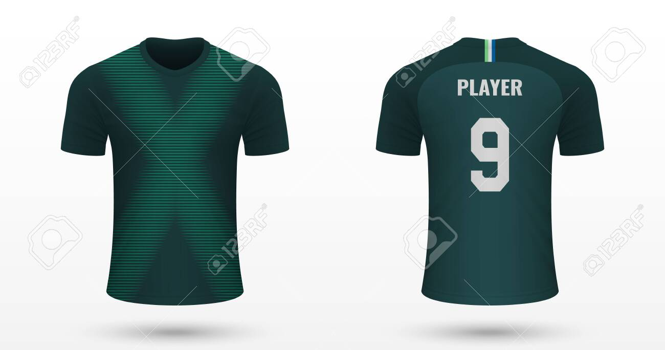 new arrival be609 d7138 Realistic soccer shirt Wolfsburg, jersey template for football..
