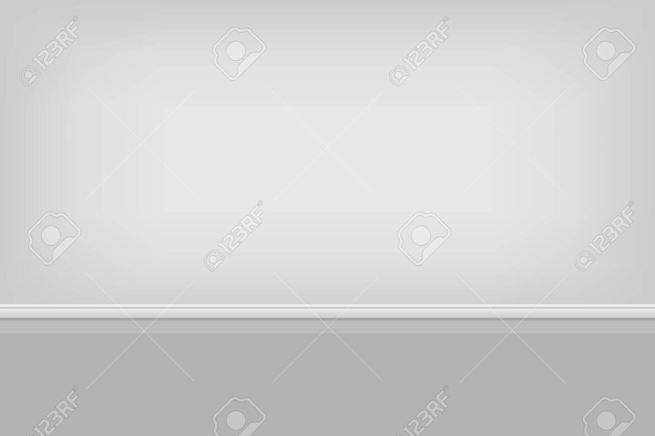 Empty room background vector illustration   Template for your