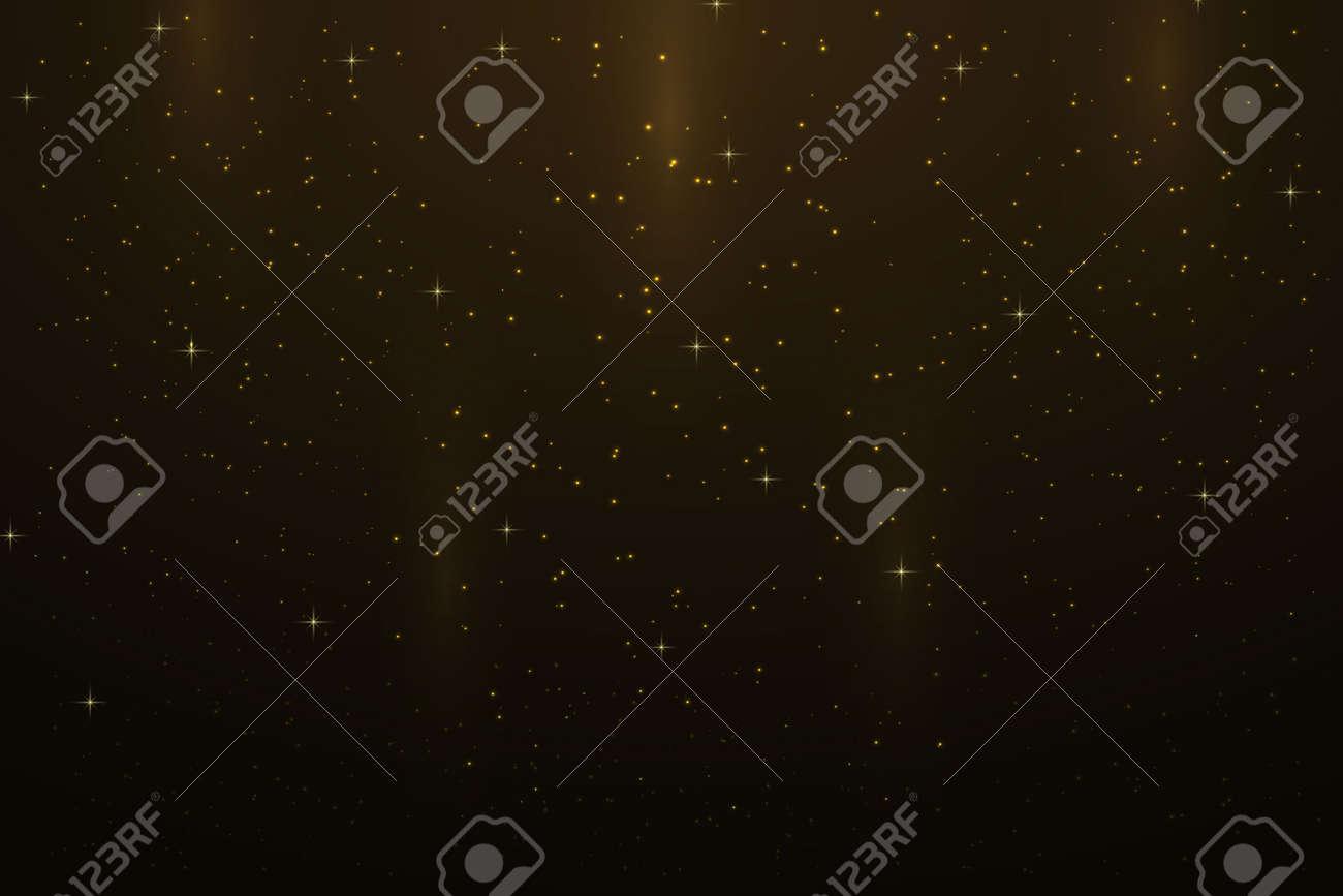 Night sky background with stars - 158677138