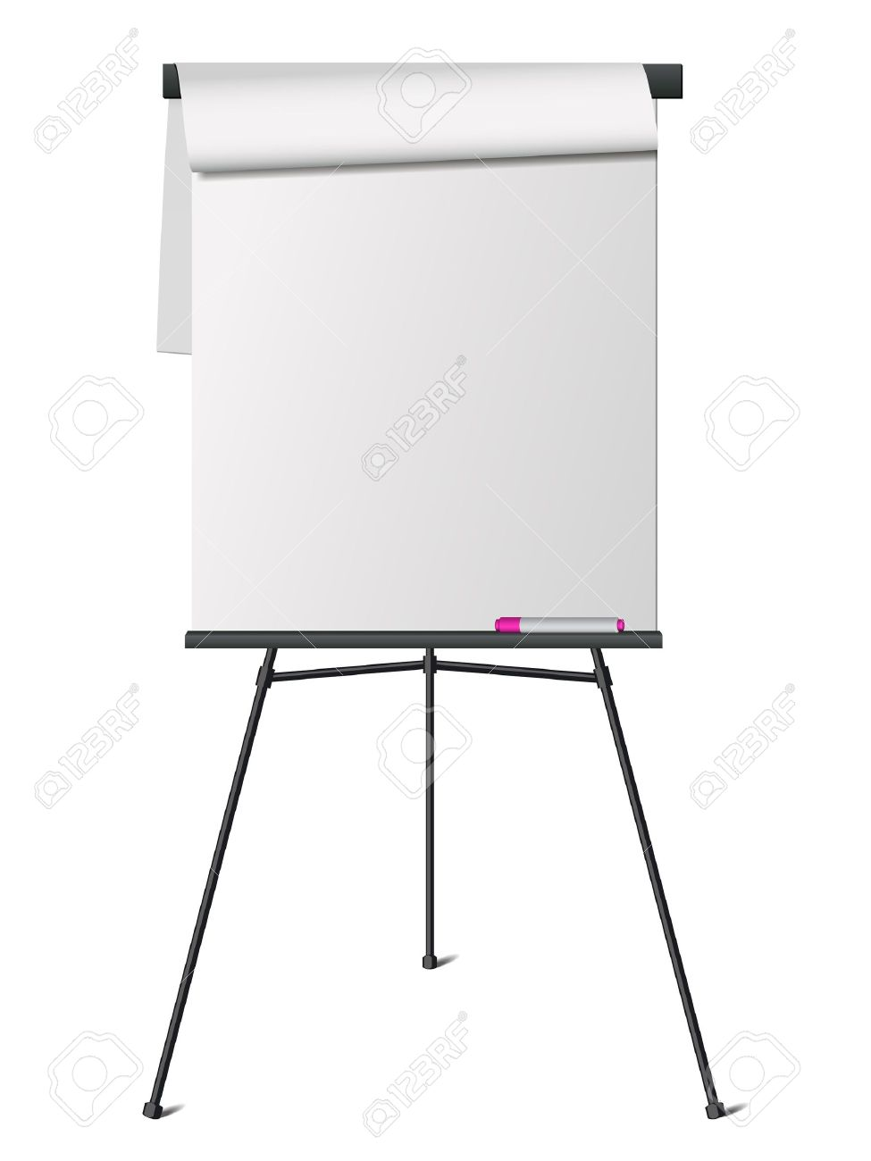 flip chart royalty free cliparts vectors and stock illustration