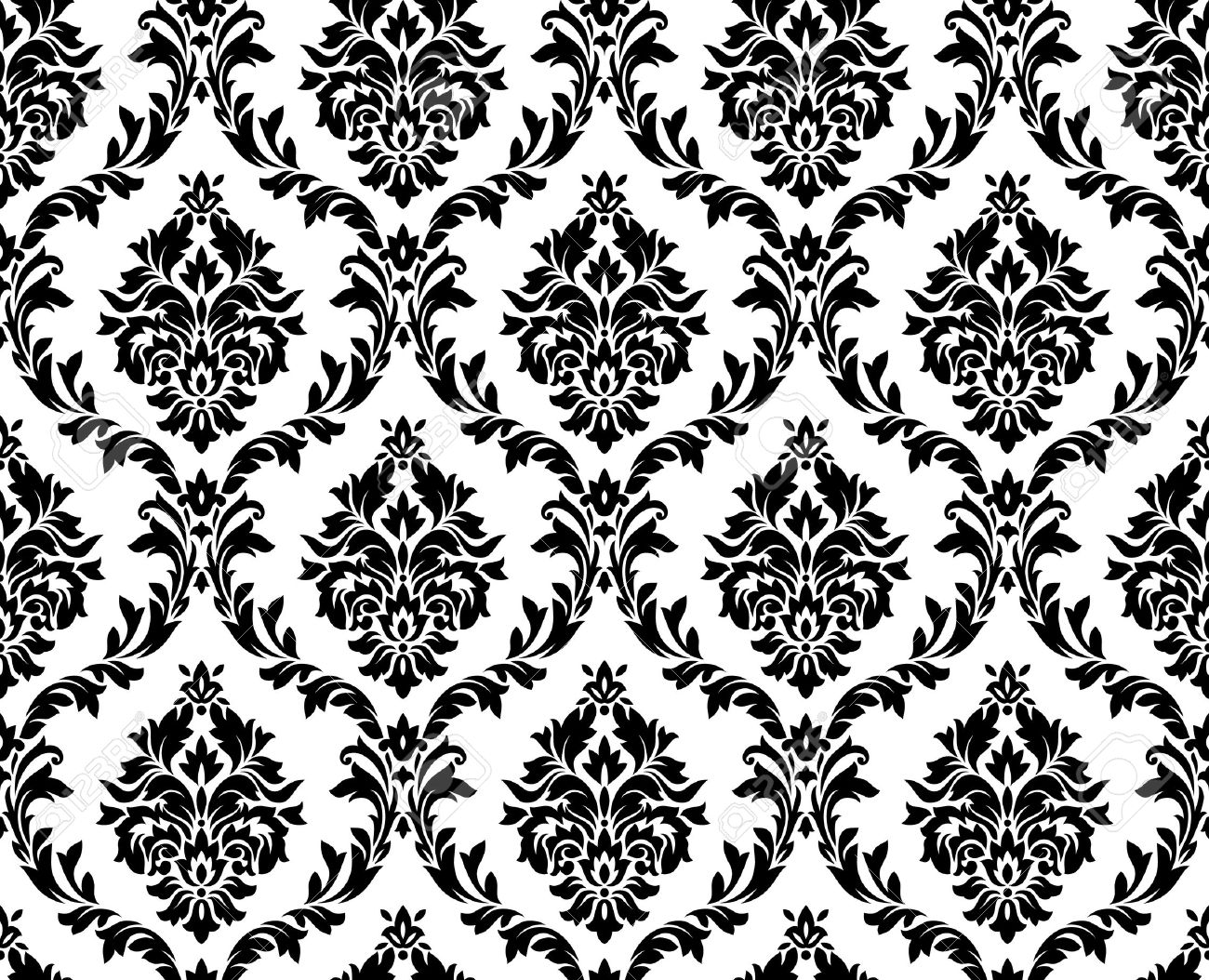 seamless damask pattern royalty free cliparts vectors and stock