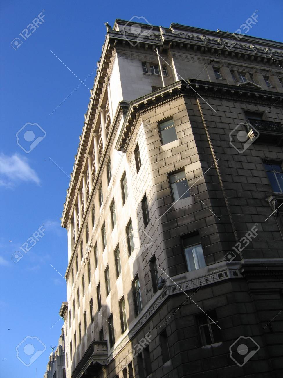 Grand Building in Liverpool England Stock Photo - 358908