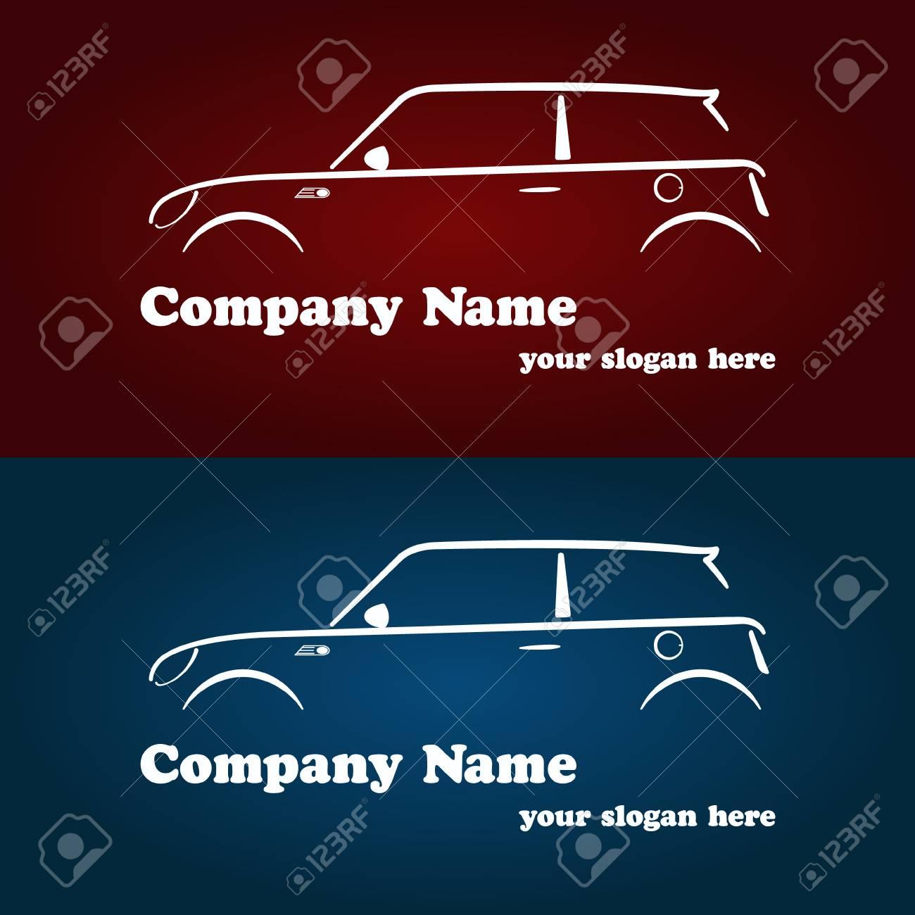Modeles De Logotype La Societe Automobile Carte Visite