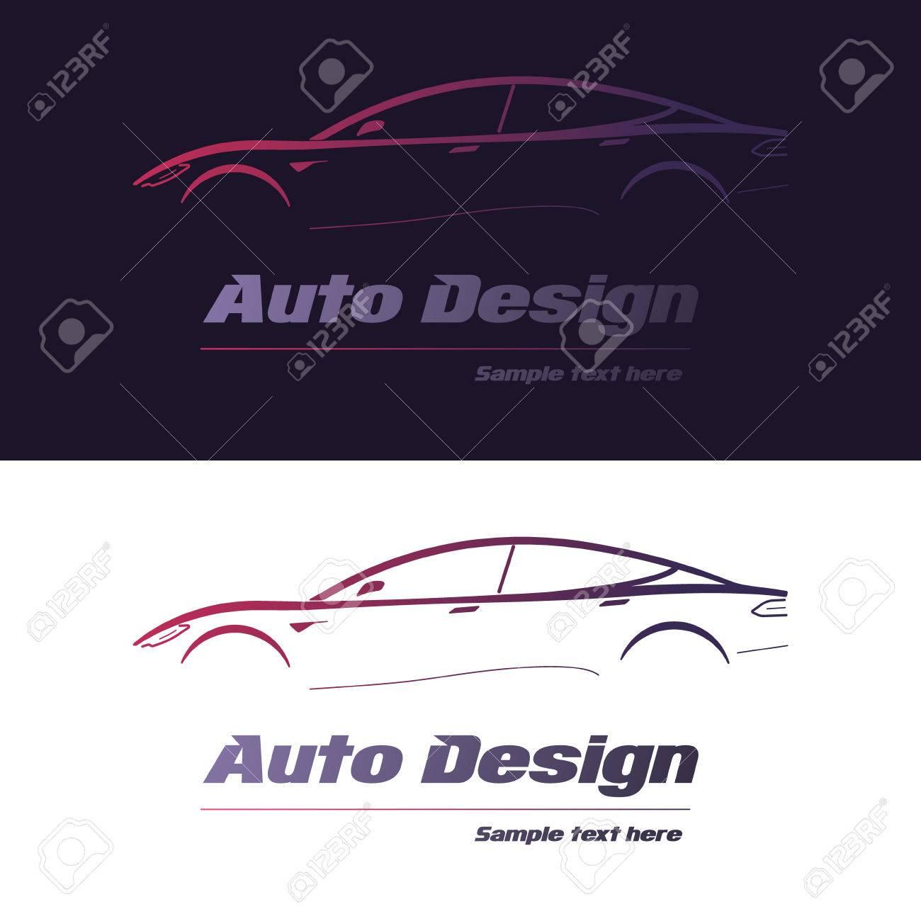 Ausgezeichnet Auto Design Vorlagen Bilder - Beispiel Business ...