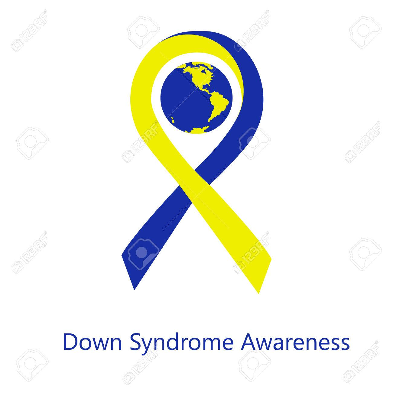 International Day Of Down Syndrome Awareness Vector Illustration