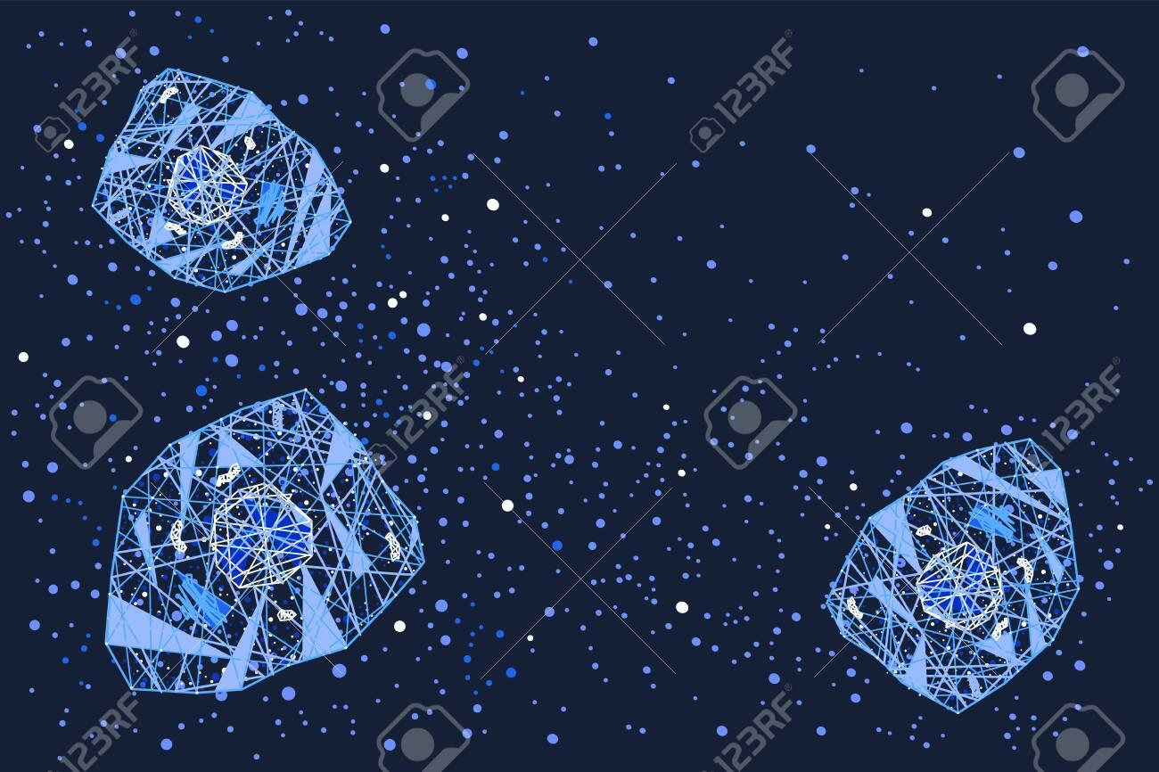 cytokine storm cell signalling vector horizontal background - 147294389