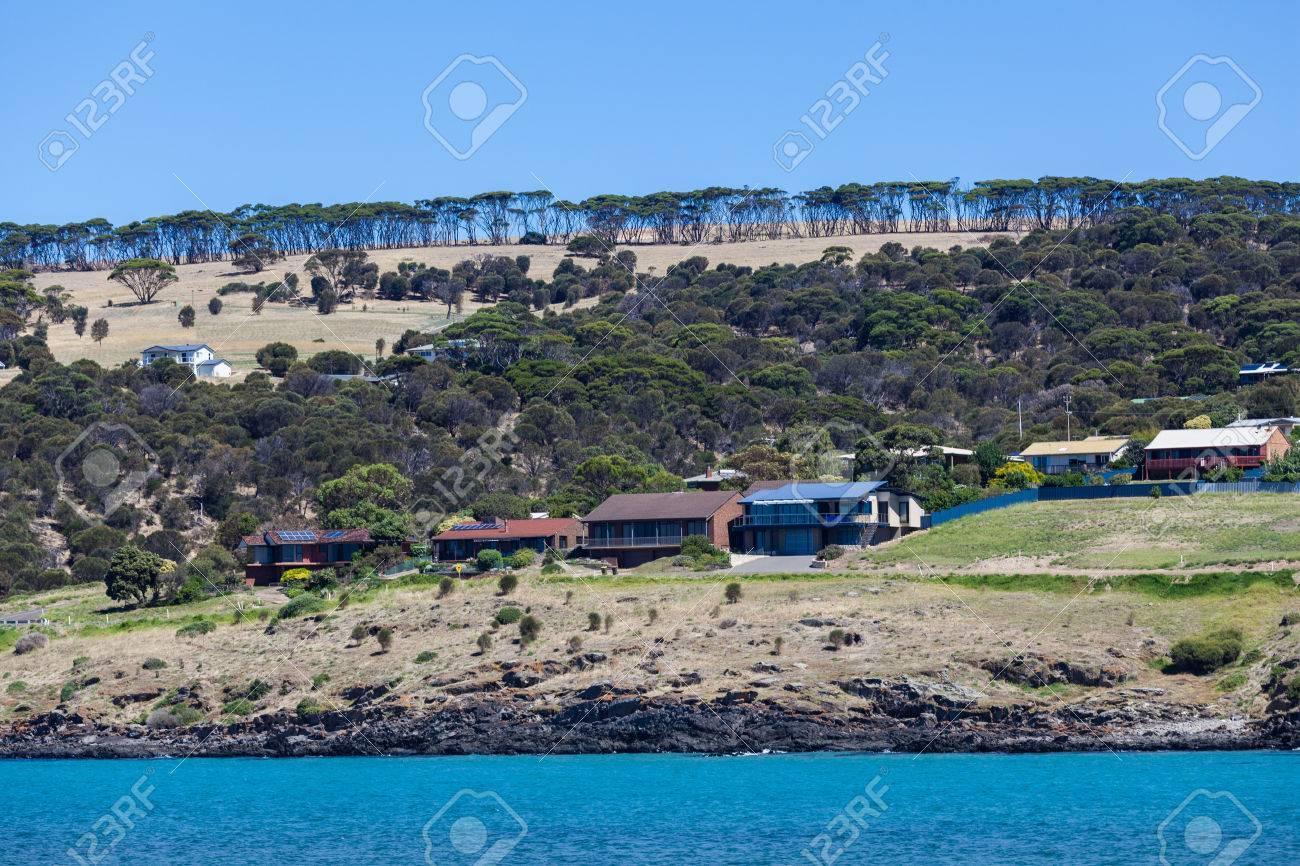 Rural houses on Kangaroo Island, South Australia