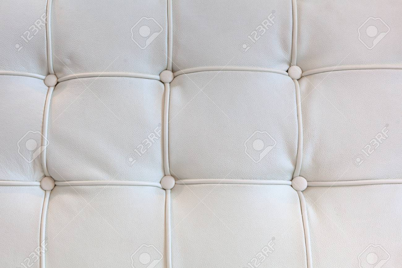 Leather Sofa Upholstery Close Up Background Texture Stock Photo