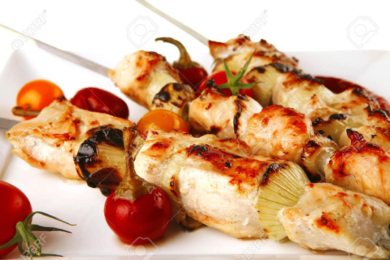 Shish Kebab Grill Fresh Grilled Chicken Shish