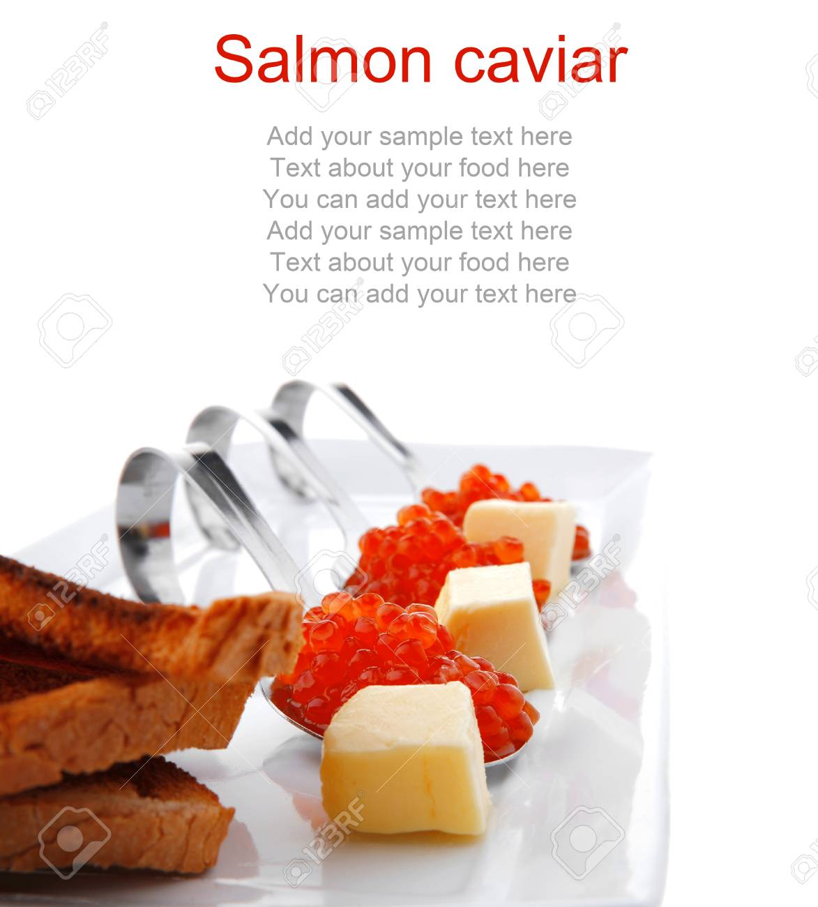 How to salt red caviar