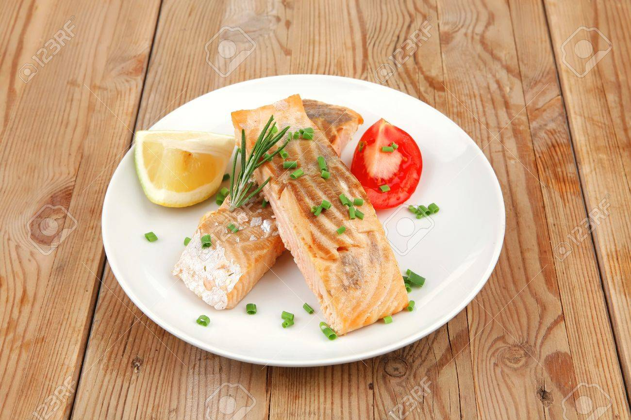 Amazing dish - pink salmon in the oven 17