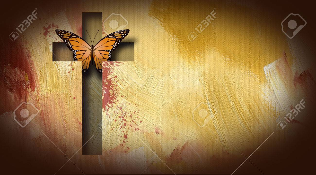 graphic composition of the cross of jesus setting free a beautiful