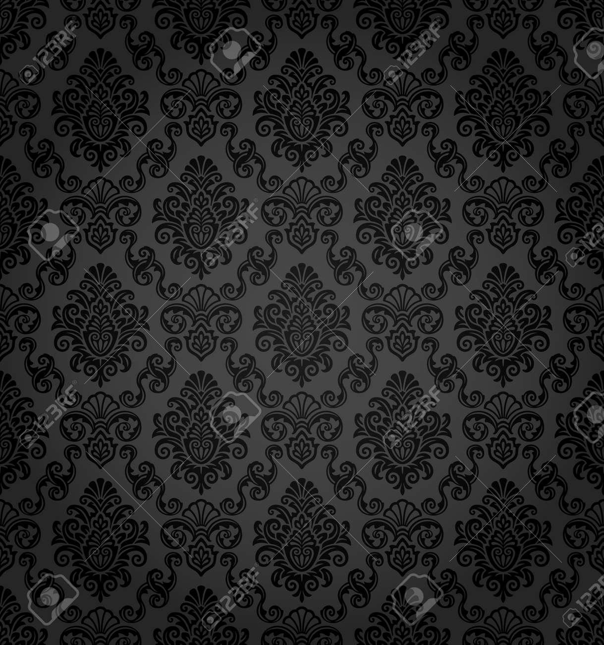 Seamless damask pattern Stock Vector - 11028757