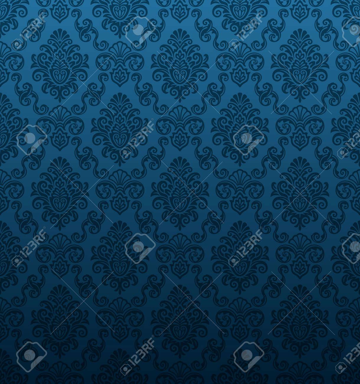 Seamless Damask Wallpaper - 11028766