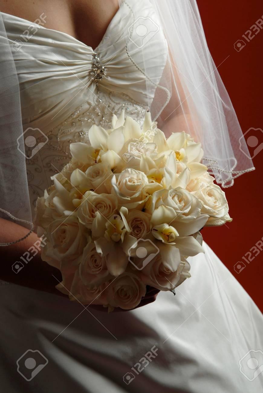 Bouquet Sposa Avorio.Immagini Stock Avorio Bouquet Da Sposa Image 759102